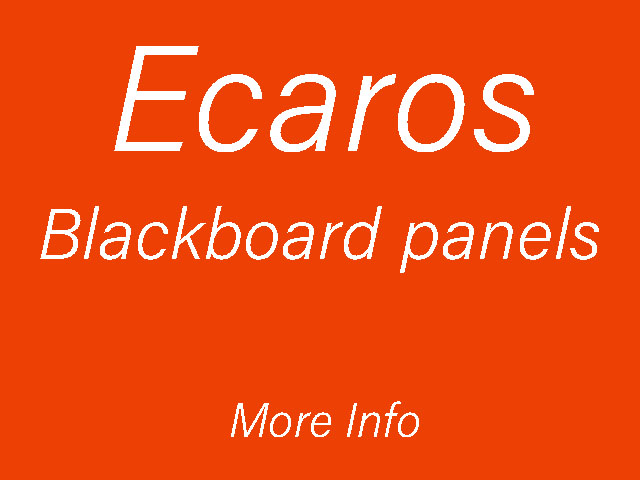Ecaros Blackboard panels